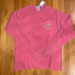 Rainforest Cafe Orlando S pink long sleeve tee NWT